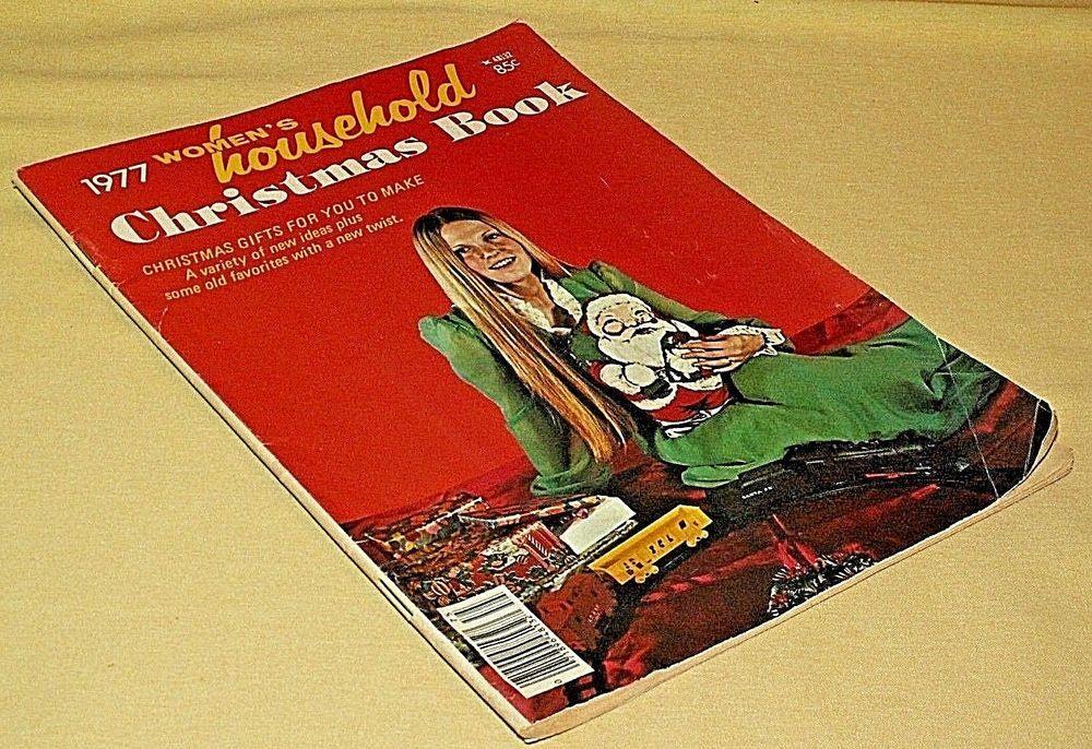 Woman\'s household christmas book magazine 48132 tower press 1977 ...