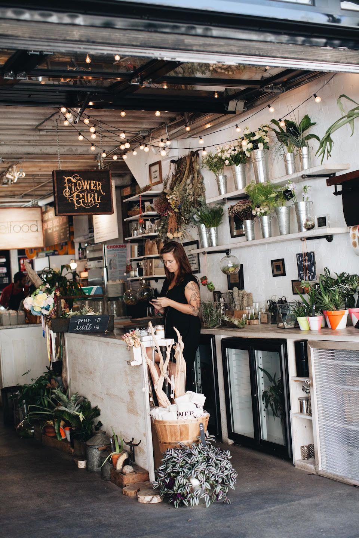 gansevoort market: flower girl nyc