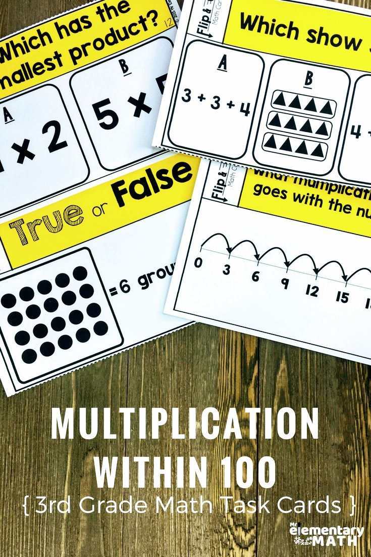 Are you a 3rd grade teacher looking for fun multiplication ...