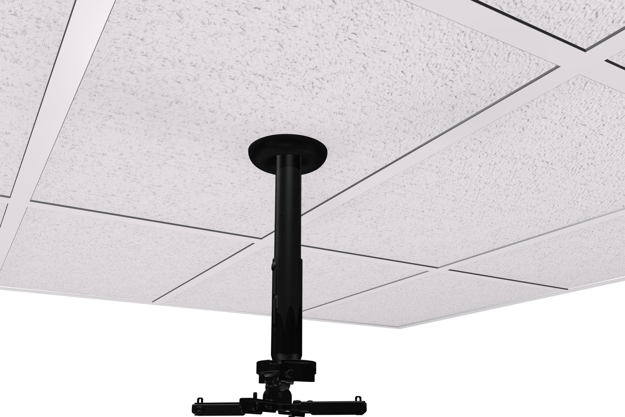 Universal Suspended Ceiling Mount Projector Kit Projector Ceiling Projector Projector Mount Ceiling