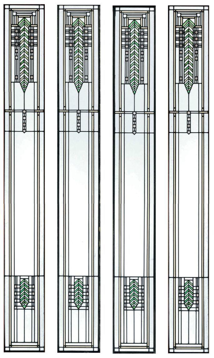 Frank Lloyd Wright Prairie Leaded Glass Patterns Google