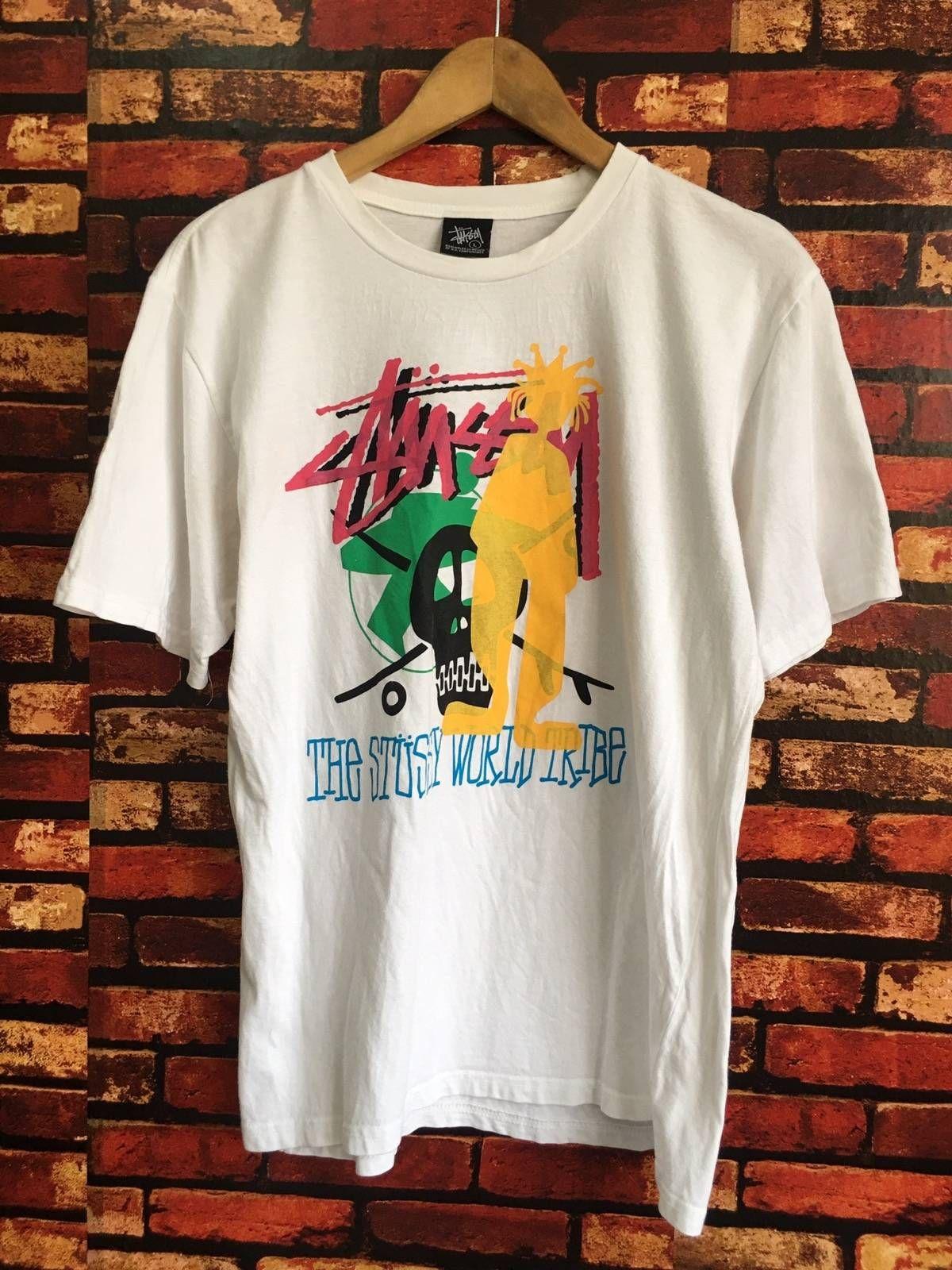 Stussy STUSSY Logo Print Tshirt Size Large Size l Short