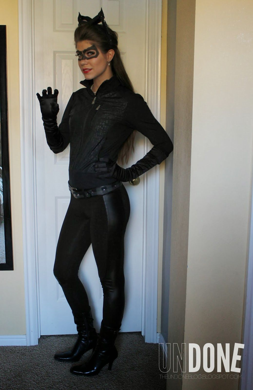 Undone DIY Catwoman Costume Daily Diaries  sc 1 st  Pinterest & Undone: DIY Catwoman Costume Daily Diaries | dips | Pinterest ...