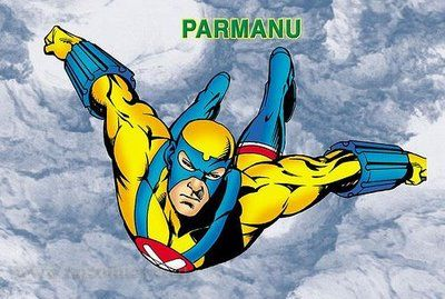 Free Download and Read Online our Superhero Parmanu Comics