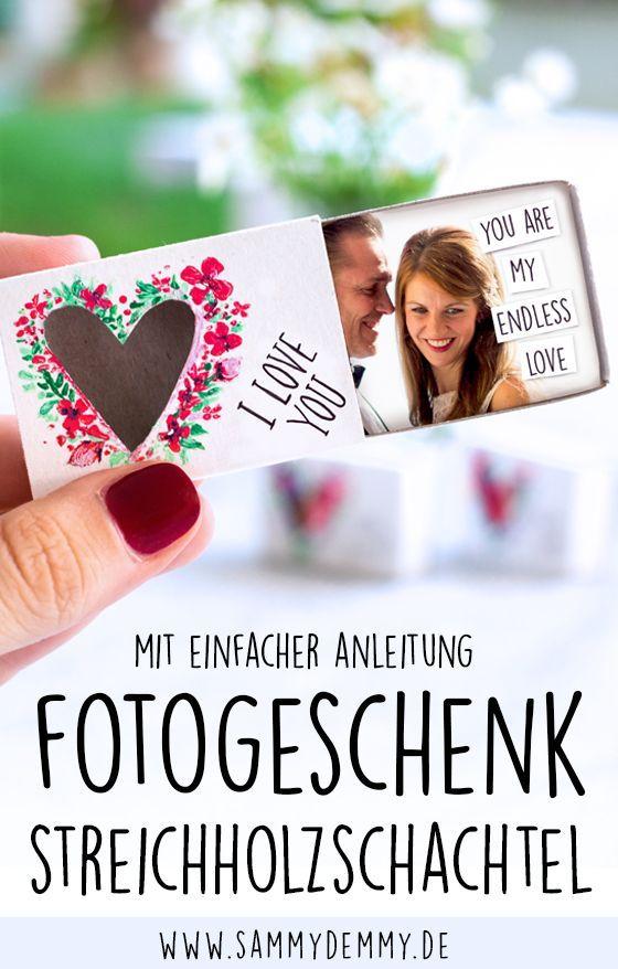 Photo of Kleines Dankeschön in der Streichholzschachtel als Fotogeschenk