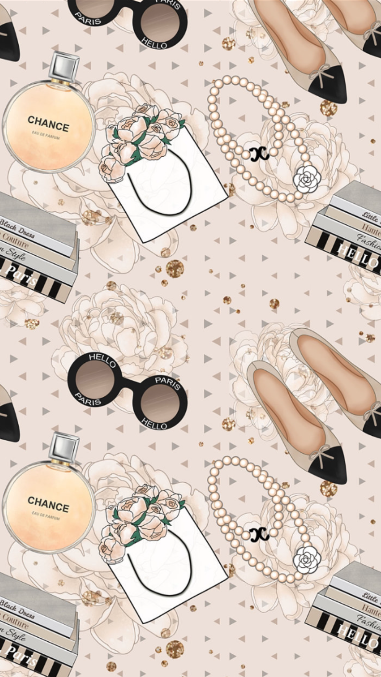 Breakfast at Hannah's ♡ | iphone cases | wallpapers♡ in 2019 | おしゃれな壁紙背景, イラスト おしゃれ, 香水 イラスト