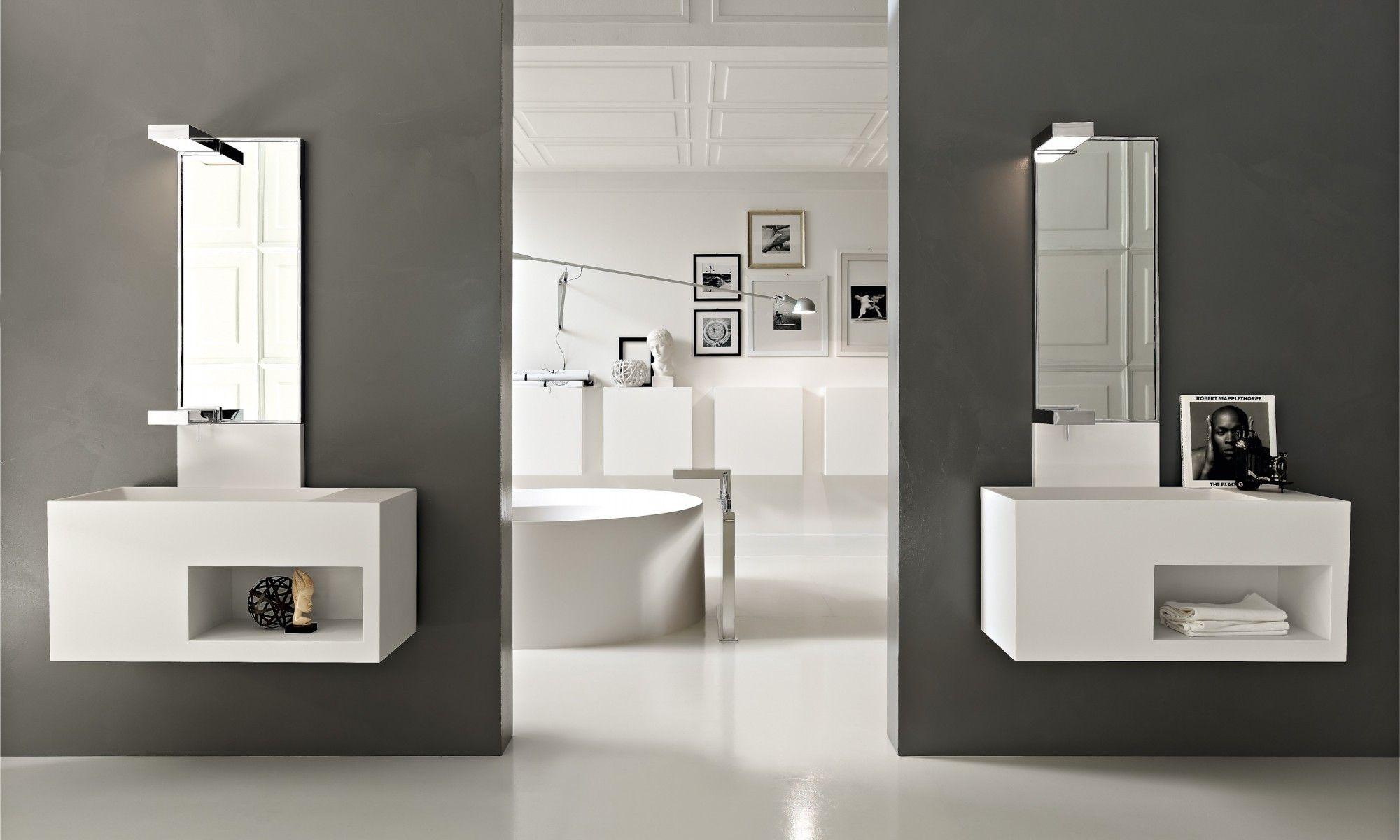 Surprising Inspiration Bathroom Floating Vanity Units Corner Shelves - Bathroom vanity floating style