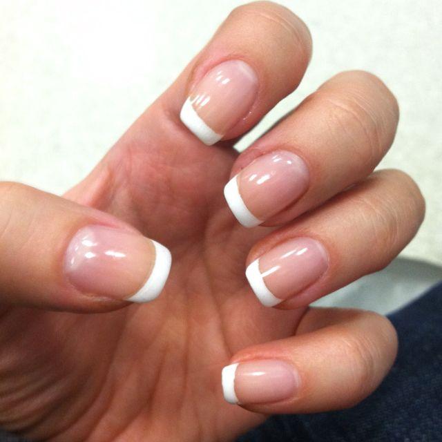 My Shellac manicure - perfect for my wedding on Saturday.  www.shellacnailscnd.com