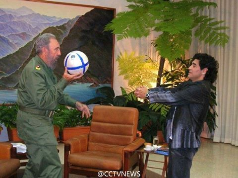 """He was like my second father,"" Diego Maradona told media after Cuban revolutionary leader Fidel Castro passed away on Friday. The 56-year-old Argentinean soccer star gave an interview in Zagreb, Croatia, where he was watching the Davis Cup Final on Friday. Maradona, who has a tattoo of Fidel Castro on his leg, also recalled his life in Cuba, saying Castro helped him a lot. ""I want to thank him for everything,"" he said. #cubanleader"