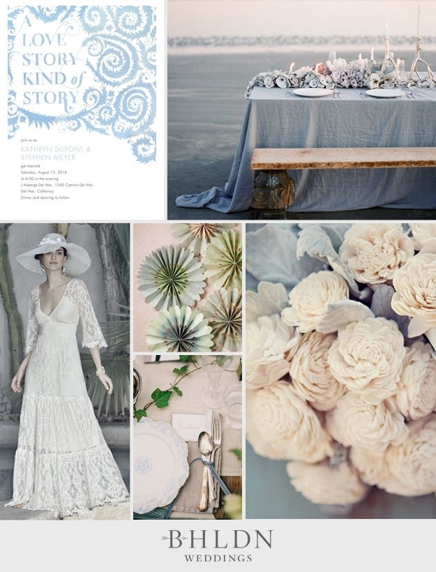Fabled Love BHLDN Inspiration Board Inspiration boards Wedding