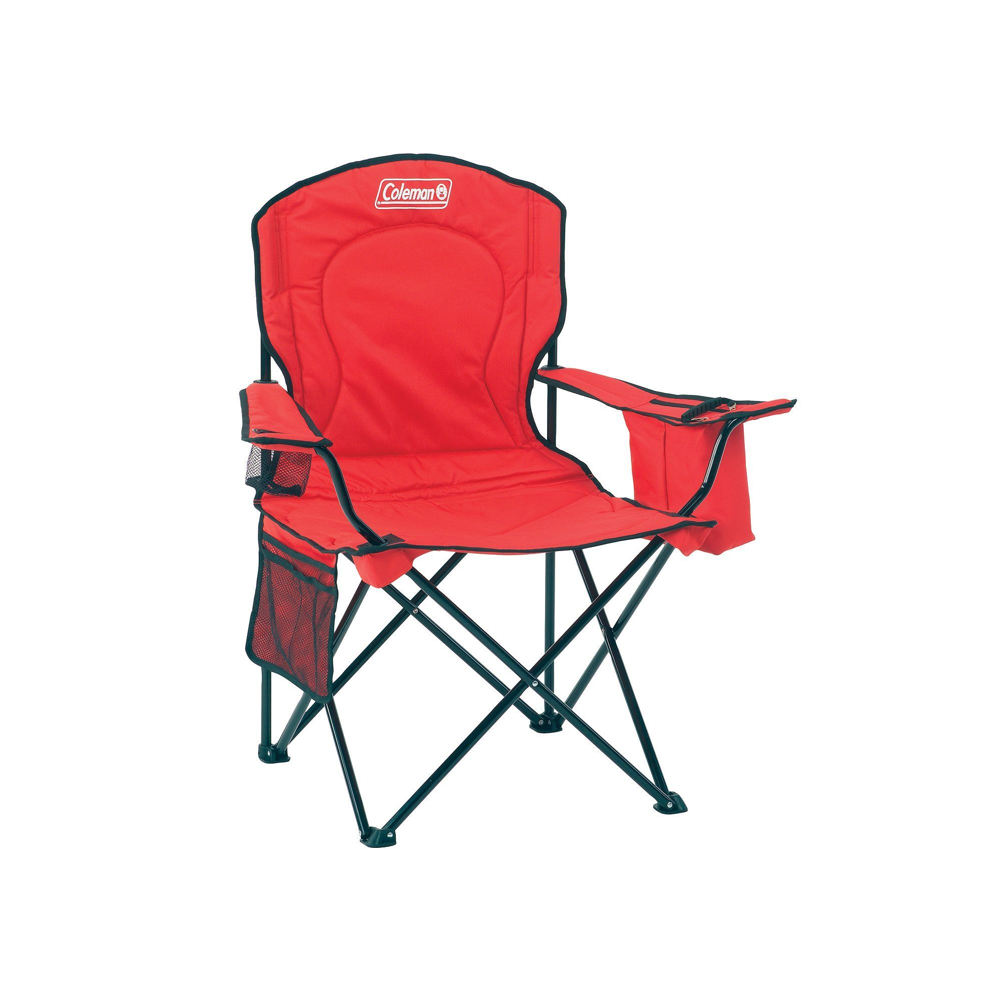 Coleman Oversize Quad Chair With Cooler Products Coleman Camping
