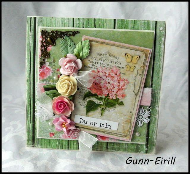 Gunn-Eirill`s Paper Magic: For you/ DT Scrappehjertet