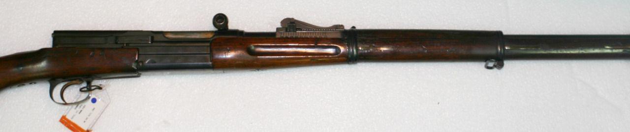 Mannlicher M1905 semi-automatic rifle Manufactured in