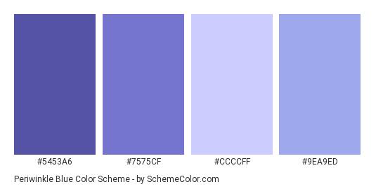 Pin By Kelly Clark On Branding Ideas Periwinkle Color Purple Color Palettes Blue Color Schemes