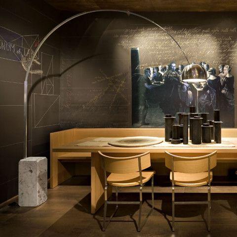 Arco Stehleuchte arco led stehleuchte flos im ikarus design shop interior