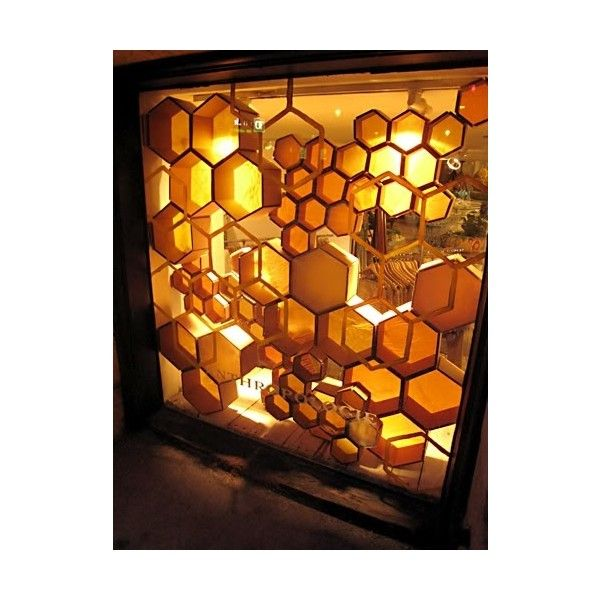 BA5- Wasps, Nests, Bees, Honeycomb (Imagery, colour ideas and general... ❤ liked on Polyvore