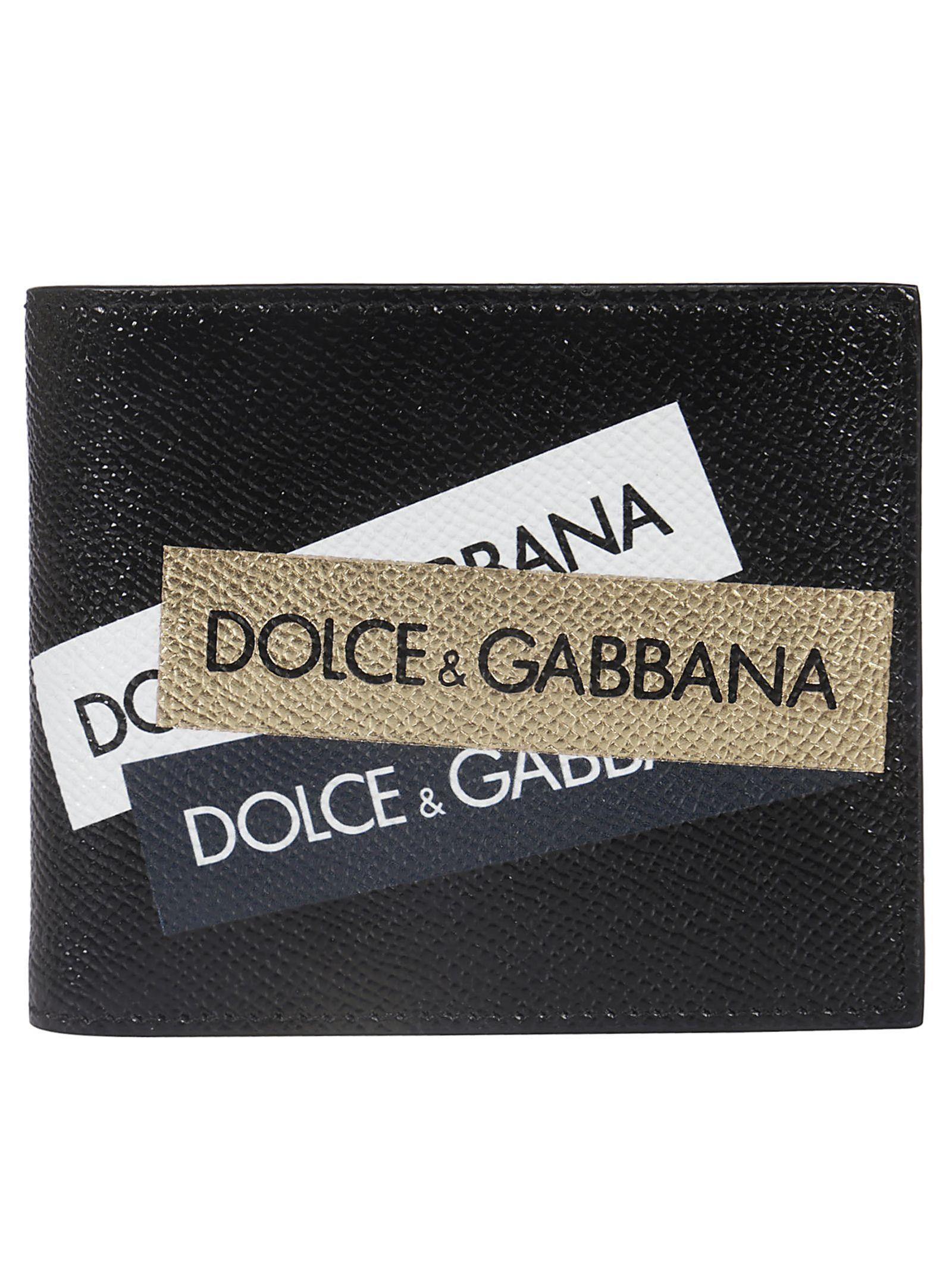 ad72e430f9b7 DOLCE & GABBANA LOGO BIFOLD WALLET. #dolcegabbana | Dolce & Gabbana ...