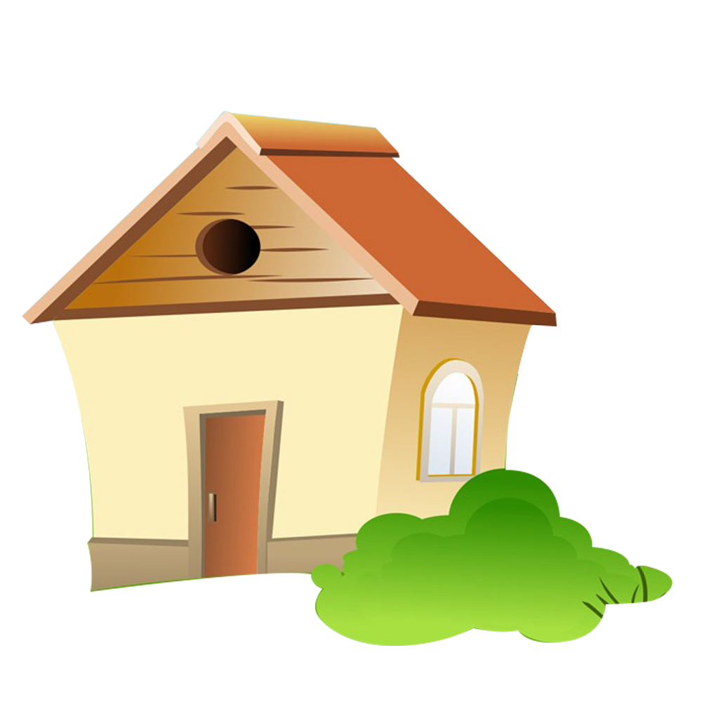 Free Download High Quality Cartoon House Png Transparent Background Image It Is Best To Use In Making White Board Anima Cartoon House Simple Cartoon Cute House