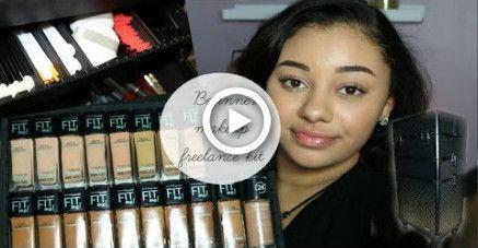 my beginner makeup freelance kit makeup in 2019  makeup
