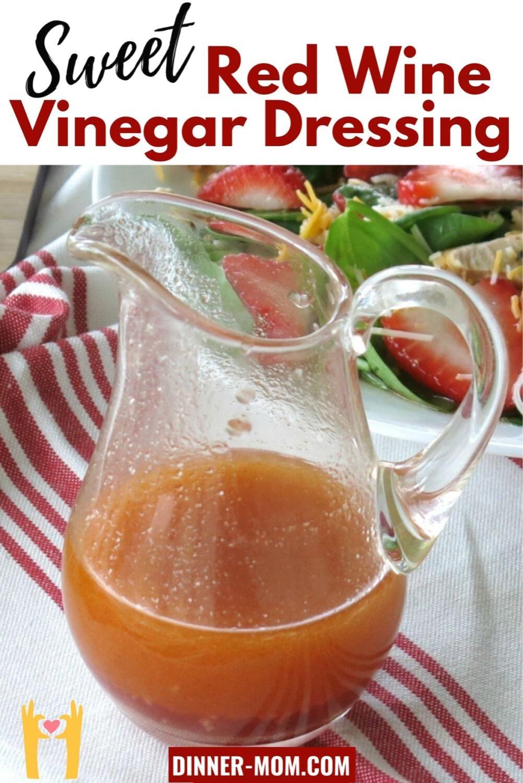 Sweet Red Wine Vinegar Dressing Video In 2021 Salad Dressing Recipes Homemade Red Wine Vinegar Dressing Recipe Vinegar Salad Dressing [ 1500 x 1001 Pixel ]
