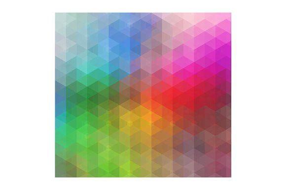 Color Mosaic Pattern. Patterns