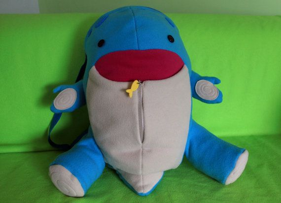 Amigurumi Quaggan : Quaggan backpack from guild wars 2 guild wars and characters