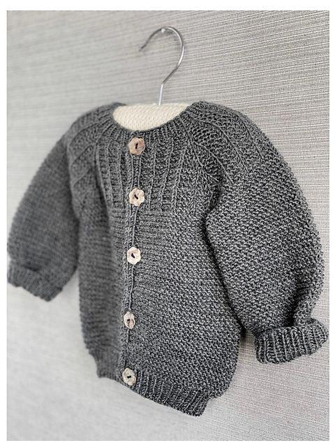 Spirrevip in 2020 | Baby cardigan, Ladies cardigan ...