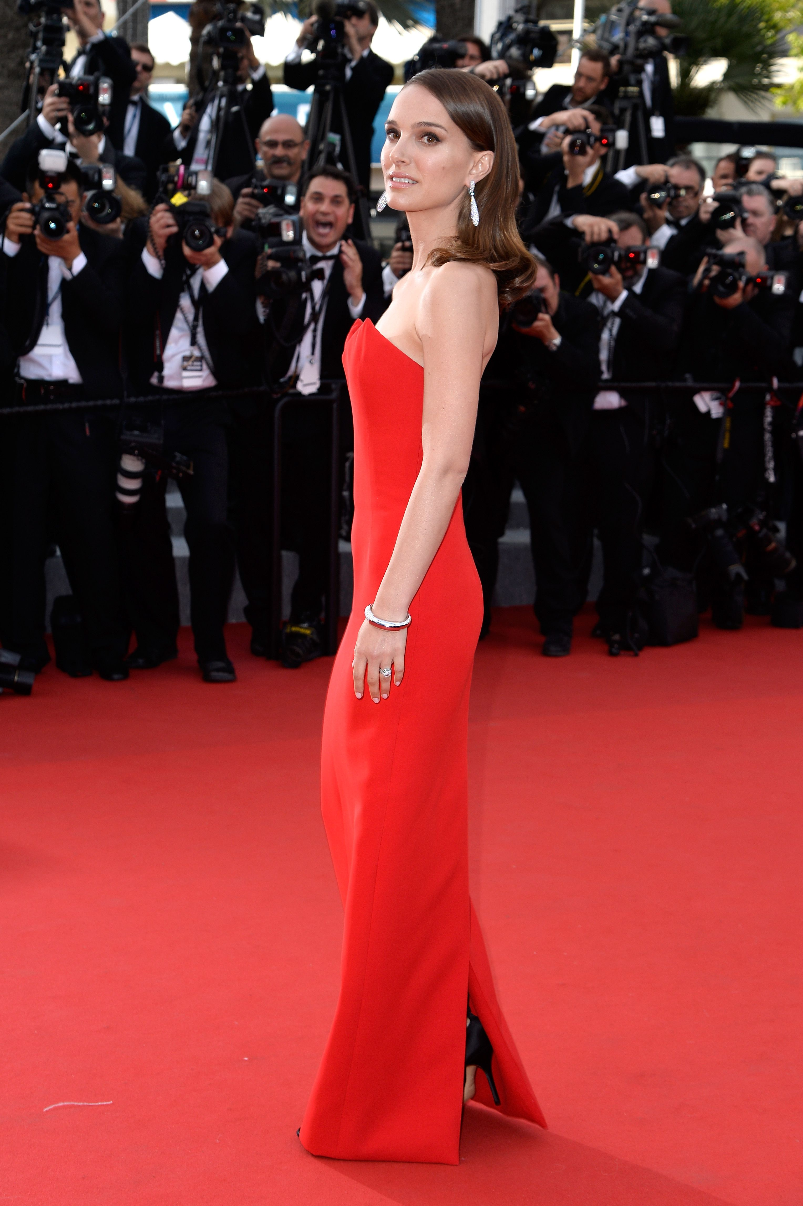 Natalie Portman attends the opening ceremony and premiere of 'La Tete Haute during the 68th annual Cannes Film Festival on May 13, 2015 in Cannes, France.