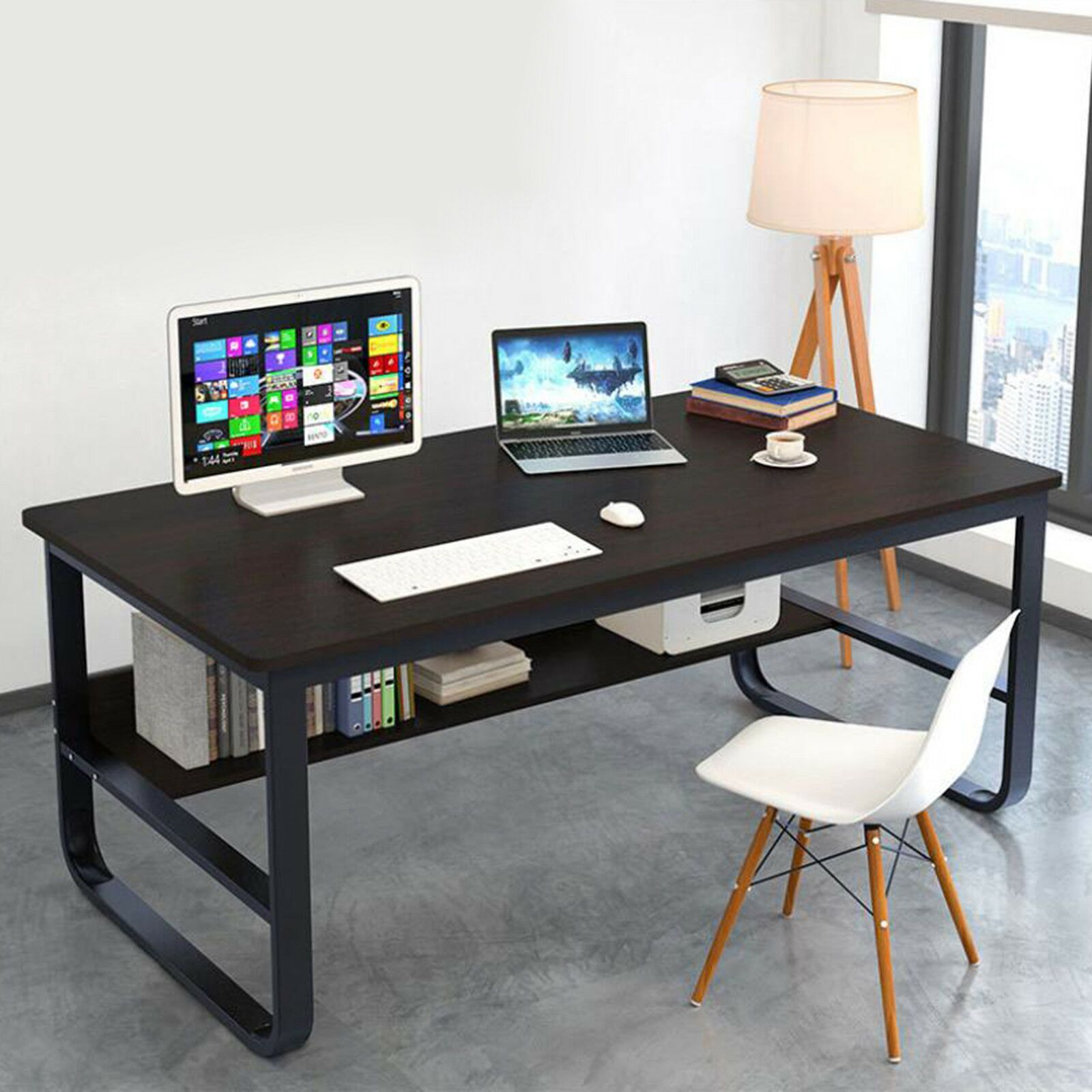 Computer Desk Pc Laptop Table Workstation Study Work Table Home