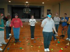 Mine Field Team Building Game Surely There Is An Object Lesson In