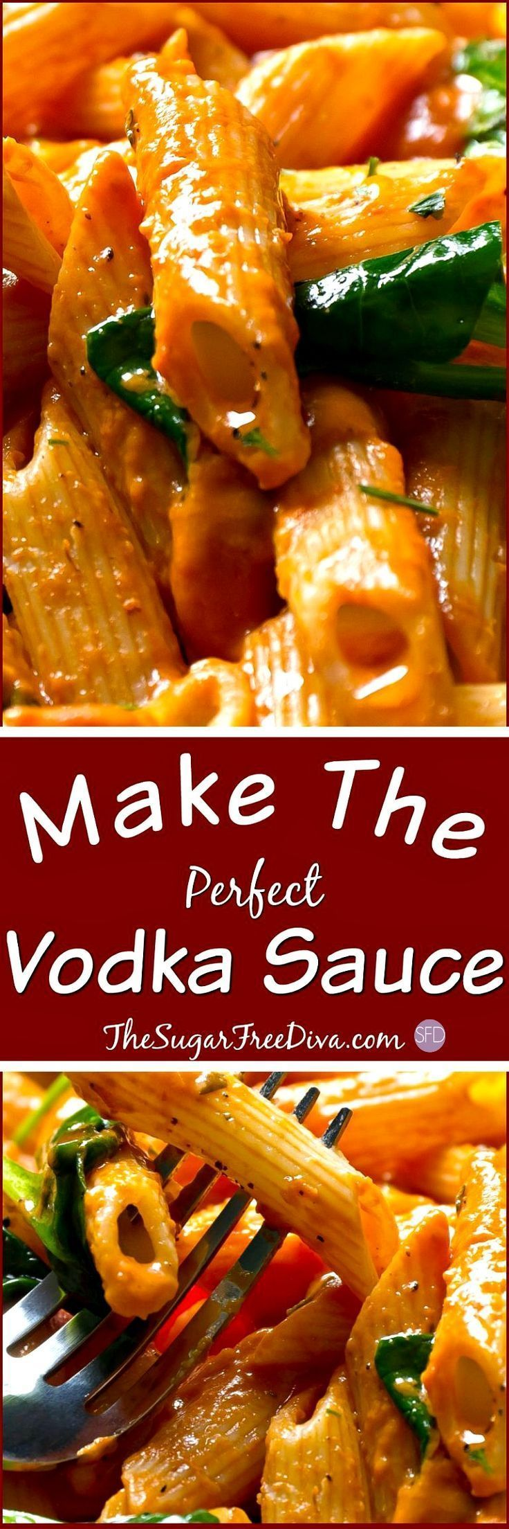 This is the best pasta sauce ever! It had VODKA in it!