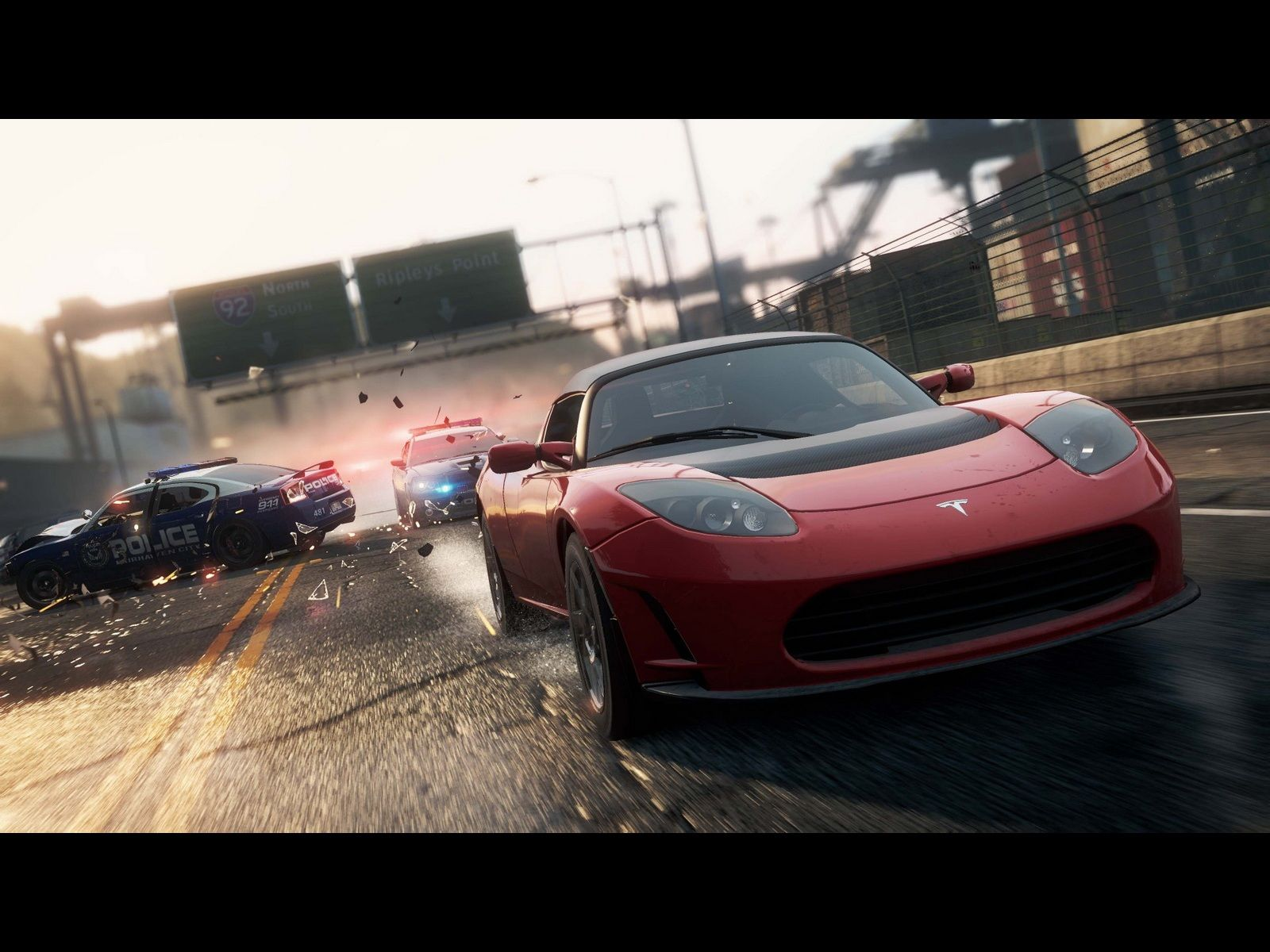 Need For Speed Most Wanted Wallpaper 800x600 Tesla Roadster