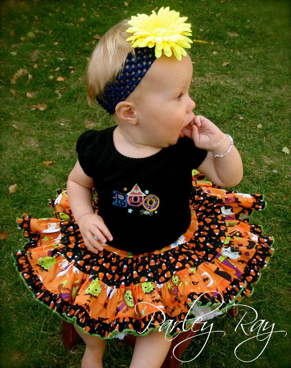 Parley Ray Trick or Treat Ultimate Twirling Skirt for Halloween on Etsy, $49.65 CAD