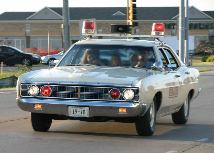 1970 Ford Custom 4dr Sedan Illinois State Police Car Classic