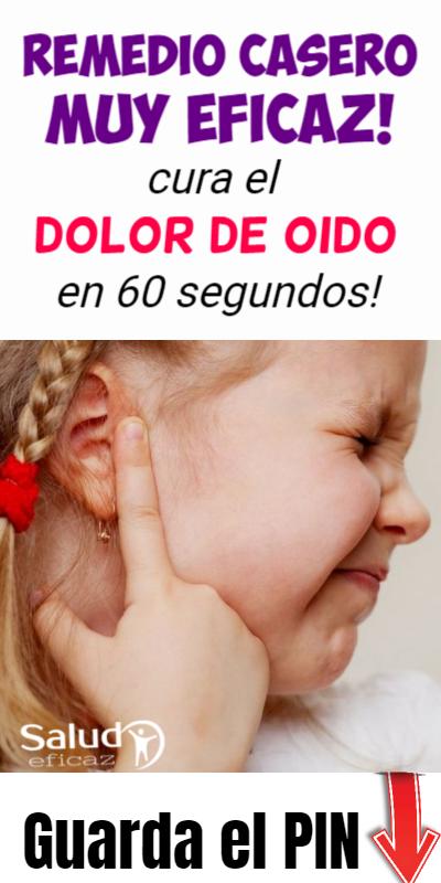 Remedios caseros para el dolor de oido de un bebe