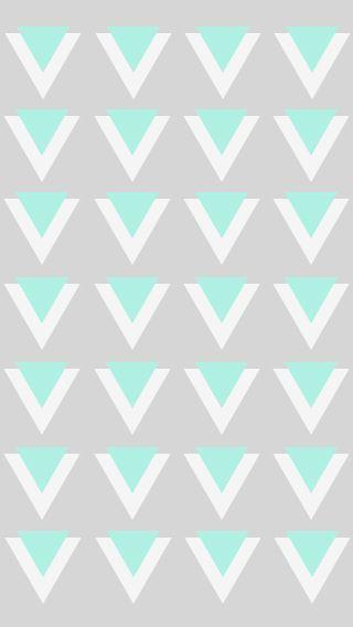Triangles Mint & Grey | Prints & Patterns | Pinterest ...