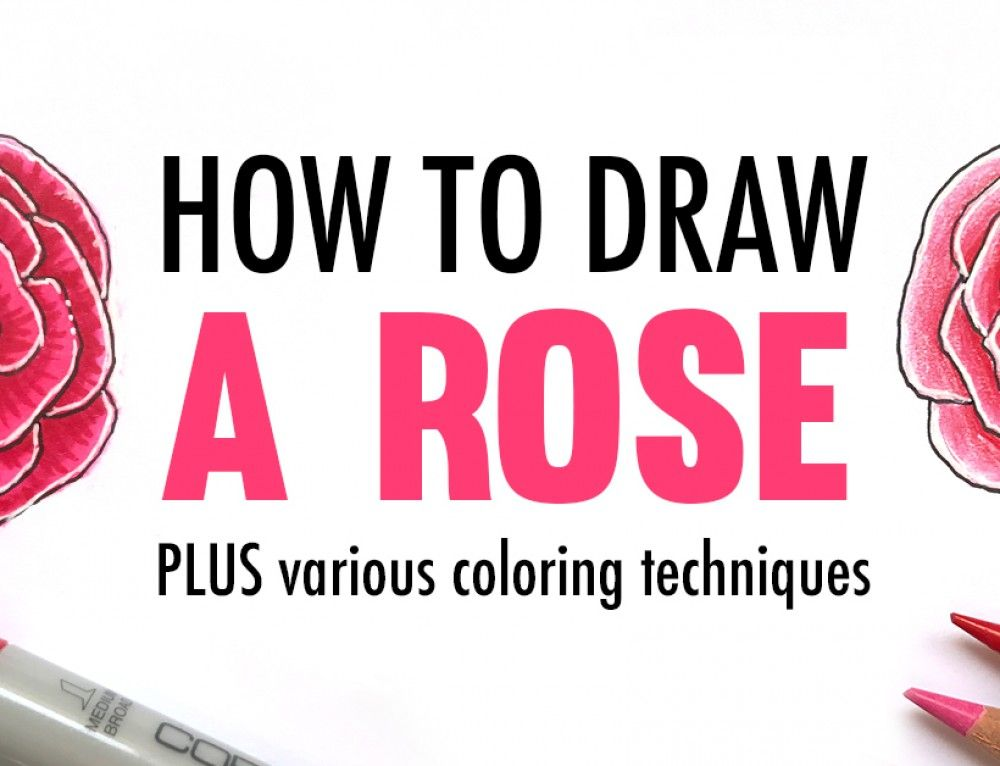 Flower Drawing Colour Video