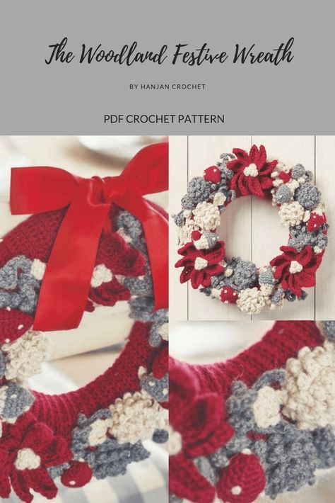 Photo of New crochet Christmas wreath DIY projects 53+ ideas