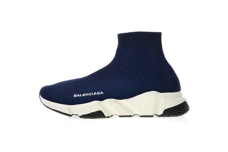 b4a57fc93c07 Balenciaga Speed Stretch Knit Mid Black White 49371 Wo Spring Summer 2018  Cheap Priced Sneaker