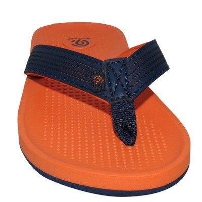 9c42a49f0d1 Boys  Felipe Flip Flop Sandals L - C9 Champion - Orange Navy