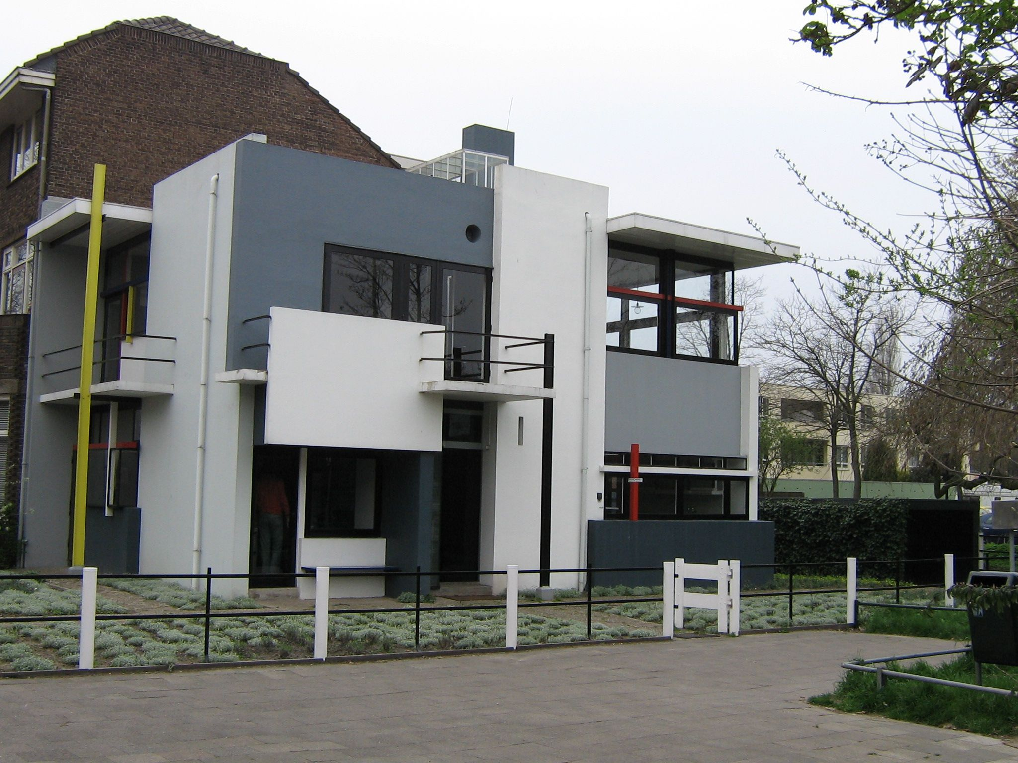 The Rietveld Schröder House—the only building realised completely according to the principles of De Stijl