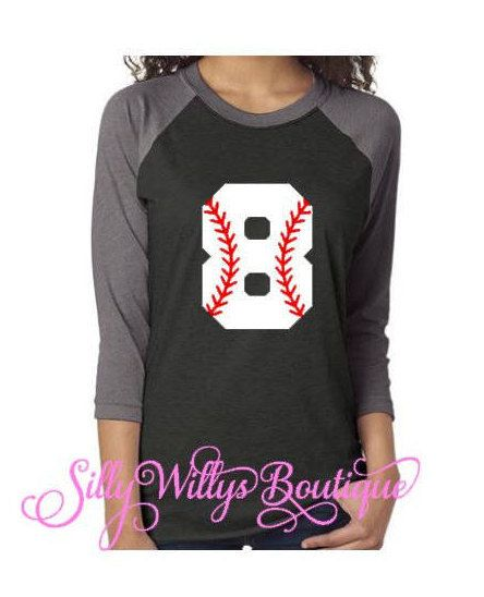 c135240a Baseball mom shirt, Softball mom shirt, Custom baseball shirt, Custom  softball shirt, Baseball number shirt, Softball number shirt, Unisex