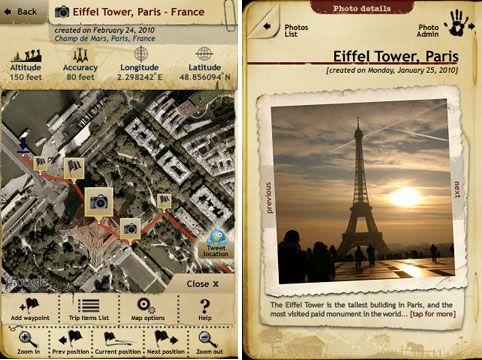 trip journal turns your smartphone into the ultimate trip scrapbook