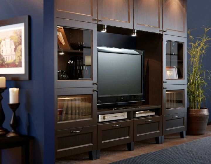 Love This Ikea Entertainment Center