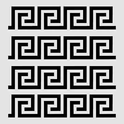 Greek Key Stencil Border Roman Stencils Paint Art Craft Scrapbook Template New Stencil Patterns Geometric Stencil Stencil Patterns Templates