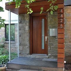 modern porch by MANION+MARTIN Architects, P.C.