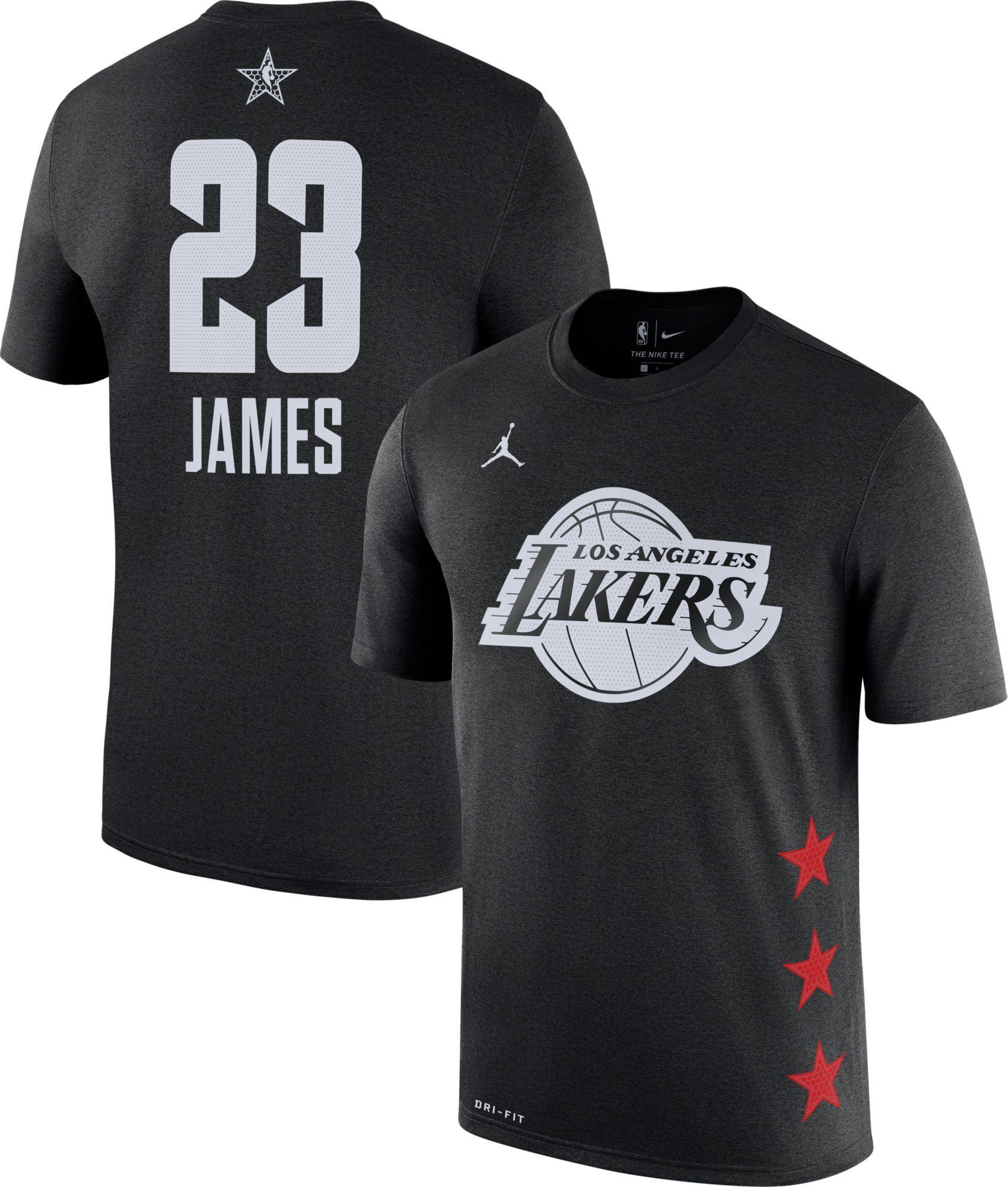 online store f94a3 8ea8e Jordan Youth 2019 NBA All-Star Game LeBron James Dri-FIT ...