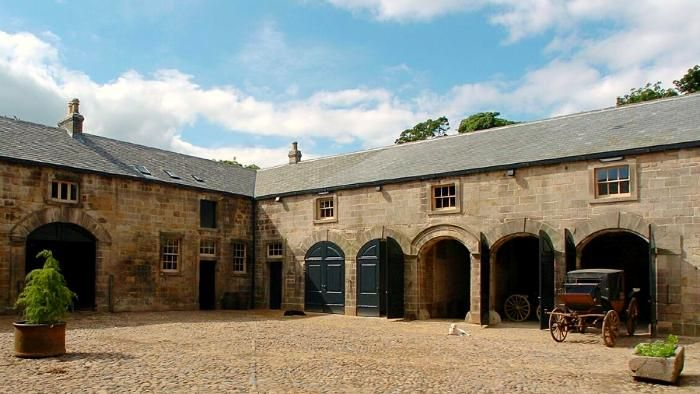 Gibside Learning National Trust Farm Buildings Dream Barn Stables Victorian Horse Stables
