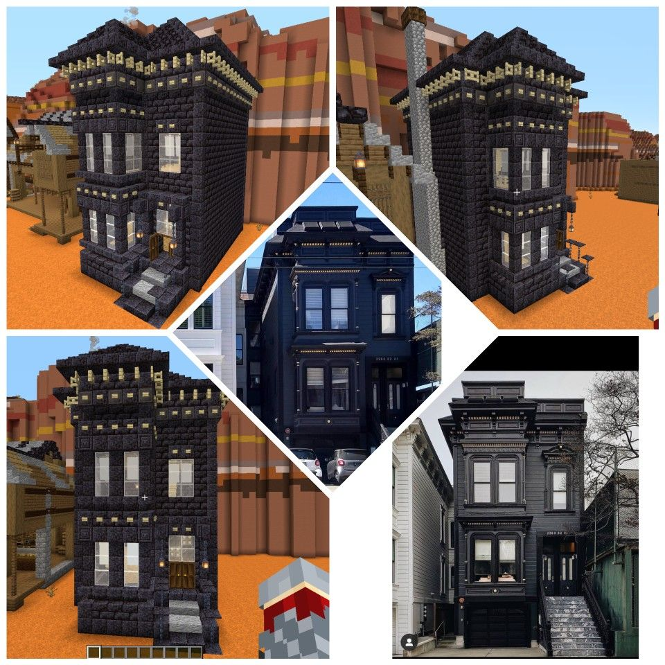 Blackstone House In 2020 Minecraft Projects Minecraft Houses Building