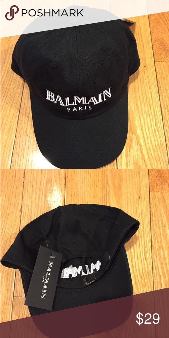 707b14ef5c3 Balmain cap Balmain hat, cap, dad hat Balmain Accessories Hats   My ...